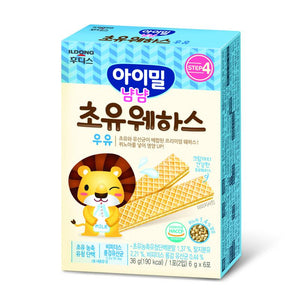 ILDong Agimeal Yumyum Colostrum Wafer Vanilla Flavour