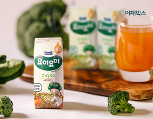 Maeil YummyYummy Organic Juice - Mixed vegetables  125ml x 3