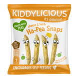 Kiddylicious  Ha Pea Snaps Cheese & Herb