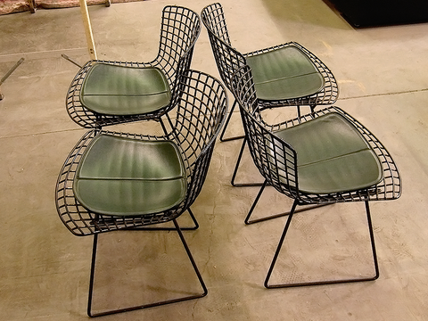 Harry Bertoia Side Chairs for Knoll International (set of 4)