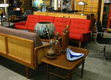 Kai Kristiansen Vintage Brazilian Rosewood 4 Pc Sofa for Magnus Olesen Excellent Condition