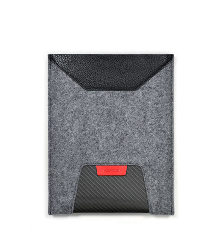 Tablet Sleeve GTR - Felt and Leather