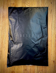 Vollebak's fully recycled/recyclable and unfolded garment bag