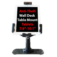 Anti Theft Grab Secure Desk Stand Counter Kiosk Apple iPad 2/3/4 Air/Air2 Samsung