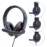Frostycow X10 Computer PC Laptop Gaming Headset with Microphone