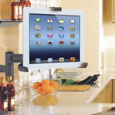 Universal VESA Plate Holder Mount iPad 1/2/3/4/Air & Galaxy Tablets 8.9-10.4""