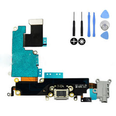 Replacement Charging Dock Connector Flex Cable Part Mic For Apple iPhone 6 Grey