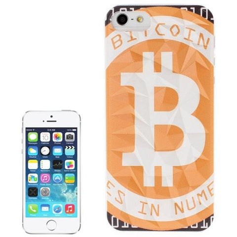 Bitcoin or Dogecoin Hard Case Back Cover For Apple iPhone 5-5S-5C