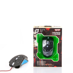 Illuminating Gaming Mouse Cliry 1600DPI 6D High Precision USB Wired