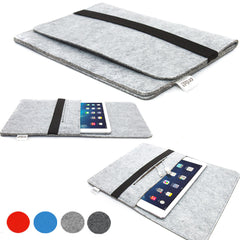 ORDEL® Soft Felt Sleeve Case For Apple iPad 1/2/3/4/5 Air or Mini/Mini 2 Retina