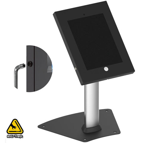 Anti Theft POS Secure Desk Stand Counter Kiosk Apple iPad 2 3 4 Air Air 2
