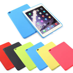 Slim Gel Silicone Back Case Cover For Apple iPad 6 Air 2 Including Screen Protector