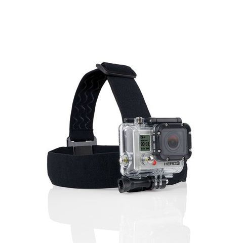 Adjustable Elastic Head Strap Mount Belt For GoPro HD & Hero 1/2/3/3+/4