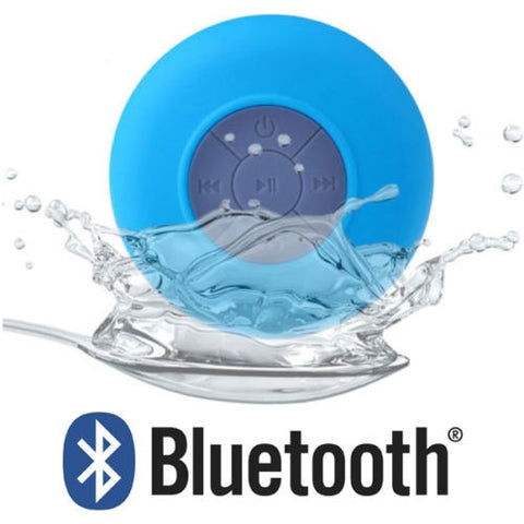 Waterproof Shower Bluetooth Speaker For iPhone, iPad & Samsung
