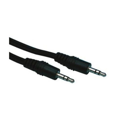 Black 3.5mm to 3.5mm Audio Jack Cable iPod MP3 iPhone AUX Lead