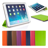 Ultra Slim Magnetic Smart Case Cover For Apple iPad 6 Air 2 (2014) With Screen Protector