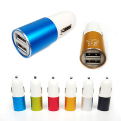 Dual Power 3.1a Dual USB Car Cigarette Charger 12v For Smart Phones & Tablets