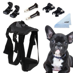 Pooch Accessories Pack Dog Chest Harness Mounts Screws For GoPro HD Hero 1/2/3/4