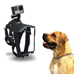 Dog Harness Fetch Chest Dual Strap Mount For GoPro HD Hero 1 2 3 3+ 4