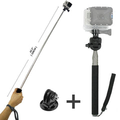 Selfie Monopod Camera Extension Arm For GoPro HD & Hero 1/2/3/3+/4 with Tripod Adapter