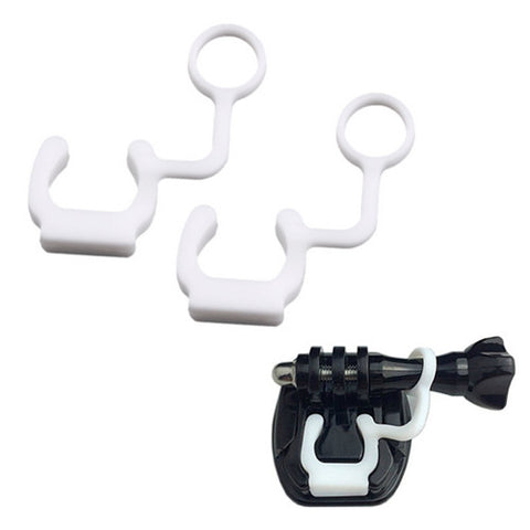2 x Anti Vibration Quick Release Silicone Locking Plug For GoPro Hero 1 2 3 4 HD