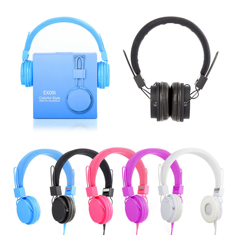 EXO9i Premium Audio MP3 DJ Headphones Headset Mic Computer Laptop iPhone Samsung