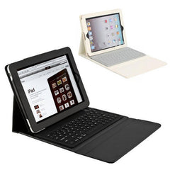 PU Leather Bluetooth Keyboard Case Stand for Apple iPad 2 3 & 4 Retina