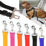 Dog Car Seat Belt Safety Clip On Travel Restraint Harness Lead Leash Pet Puppy
