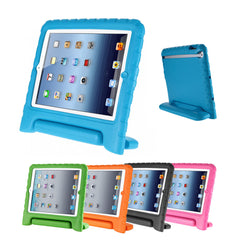 Rubber Shock Resistant Easy Hold Children's Case For Apple iPad 6 - Air 2