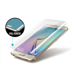 Premium Fully Invisible Curved Screen Protector For Samsung Galaxy S6 EDGE & PLUS
