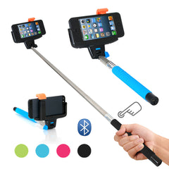 Universal Bluetooth Selfie Monopod Camera Extension Arm For Mobile Phone iPhone Samsung