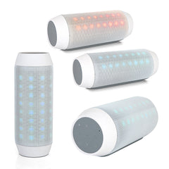 Dancing LED Wireless Portable Bluetooth Speaker With Micro SD Slot