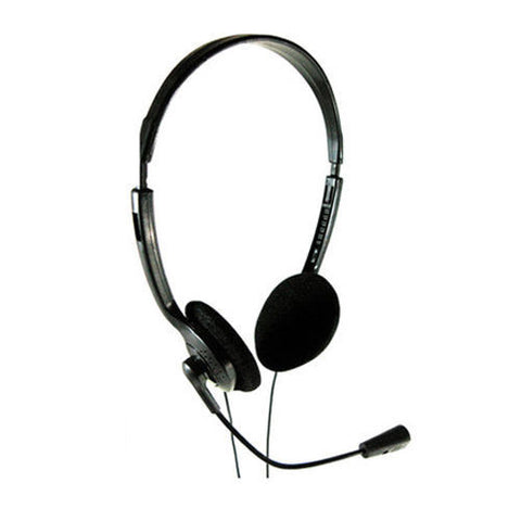 Computer Laptop Multimedia Headset with Microphone