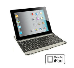 Aluminium Bluetooth Keyboard Case for Apple iPad 2