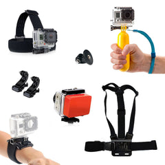 AQUA Water GoPro Accessories Pack Head Chest Head Strap + More HD & Hero 1 2 3 4