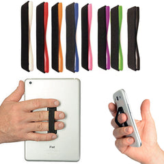 Finger Grip Elastic Selfie Strap Phone Holder Mount For Smartphone iPhone 5 6 S6 etc