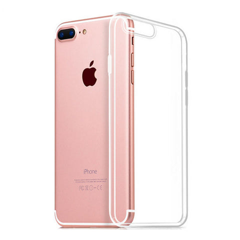 Clear Hard Case For Apple iPhone 7 / 7 Plus TPU Bumper Cover Transparent Shell