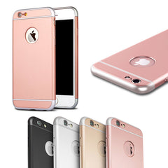 Matte Metallic Ultra-Thin Shockproof Armor Case Cover for Apple iPhone 6 6S Plus