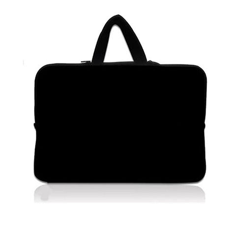 "Black 15.6"" Neoprene Cover Case For Laptop or Macbook"