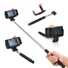 Bluetooth Monopod Telescopic Selfie Stick for Mobile Phones