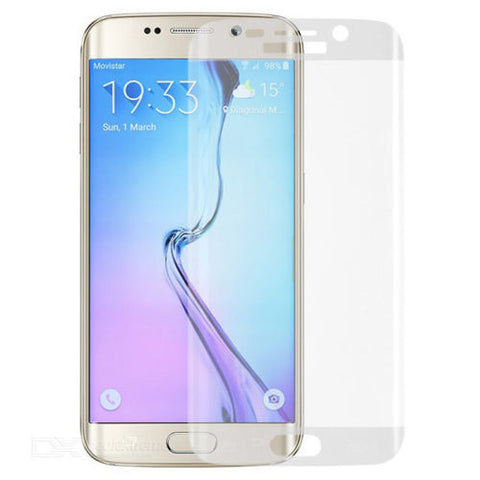 Fully Curved TEMPERED GLASS Screen Protector For Samsung Galaxy S6 EDGE