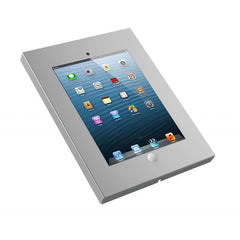 SILVER Anti Theft Secure Enclosure Case Wall Mount Cabinet Apple iPad 2 3 4 Air & Air 2