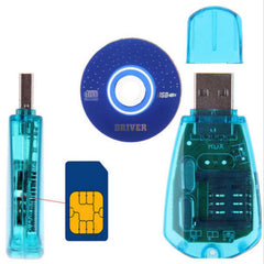USB SIM Card Reader Writer Copy Clone Copier Backup Adapter All Sim Cards GSM 3G