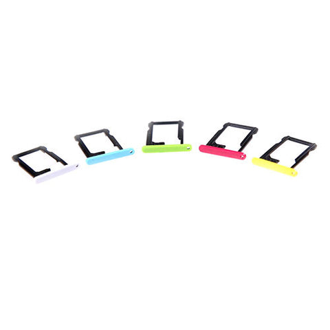 Replacement Coloured Nano SIM Card Tray Slot For Apple iPhone 5C
