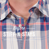Stiff-N-Stay by Wurkin Stiffs Plastic Magnetic Collar Stays
