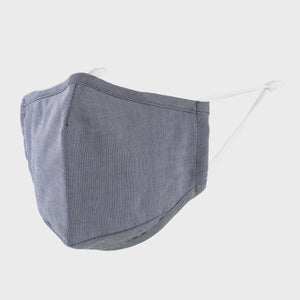 Chambray Blue Face Mask