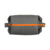 Grey and Orange Silicone Dopp Bag