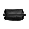 Jet Black Silicone Dopp Bag