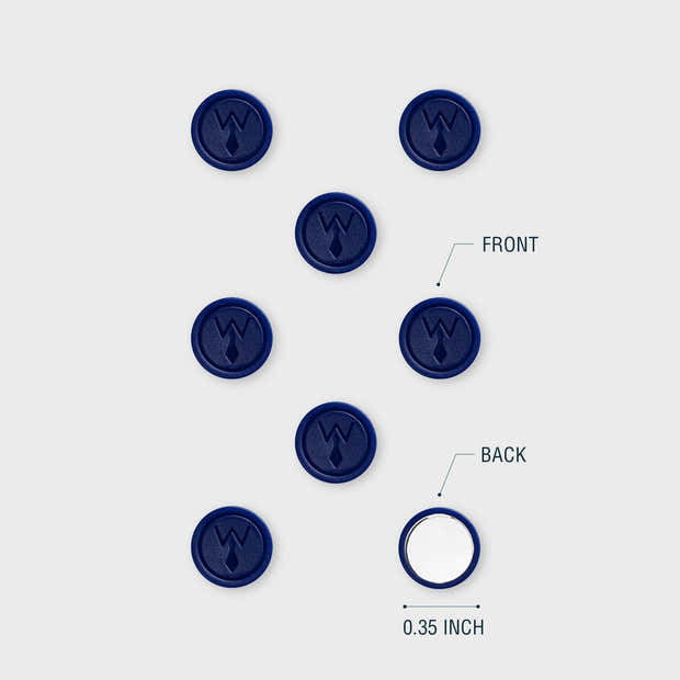 Magnetic Power Buttons - Blue 1