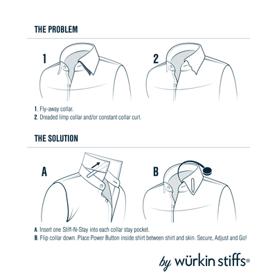 How to use wurkin stiffs magnetic collar stays